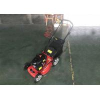 Buy cheap Hand Push Lawn Mower Gasoline / Gas Powered Push Lawn Mower 60L Grass Box from wholesalers