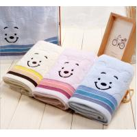 Buy cheap Cheap fanny 100% cotton face custom embroidered towels in bulk from wholesalers