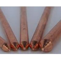Electrical Copper Coated Ground Rod / Bar , copper earthing electrode Manufactures