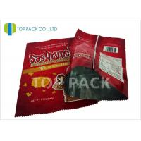 Laminated Foil stand up vacuum pouches Frozen Food Storage , 500g / 1000g Manufactures