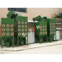Buy cheap Filter Cartridge Blast Room Dust Collector / Baghouse Dust Collector System from wholesalers