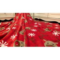 Buy cheap Super Soft Printed Coral Fleece Blanket / Coral Plush BlanketFor Travel , Hotel from wholesalers