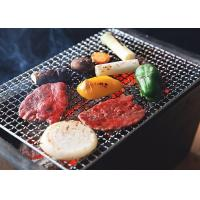 Buy cheap 1 . 0 mm Wire Diameter SS Crimped Woven Wire Mesh , BBQ  Mesh Grill 0 . 8 MM Wire from wholesalers