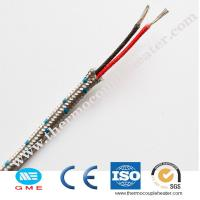 Buy cheap thermocouple k, J heating cable for high temperature compensation cable from wholesalers