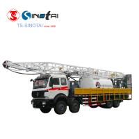 Buy cheap Thick oil well used workover service JLXJ22.5 flushby rig from wholesalers