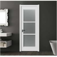 Wholesale Secure Frosted Glass Interior Door 40mm Total Thickness 1100mm Max Width from china suppliers
