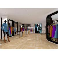 Buy cheap Creative Lady's Clothing Shop Display Stands , Commercial Retail Store Clothing Racks from wholesalers
