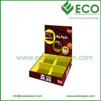 Buy cheap ECO Friendly Recyclable Food Snacks Paper Counter Display Box for Retail from wholesalers