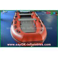 Buy cheap Durable Tarpaulin PVC Inflatable Boats with Aluminum Floor and Paddles from wholesalers