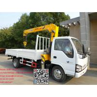 Buy cheap Isuzu 600P New Truck Cranes For Sale from wholesalers