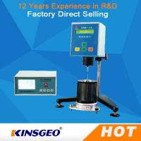Buy cheap Small screen LCD, English display High Temperature Automatic Viscosity Testing Equipment from wholesalers