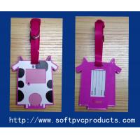 Buy cheap Personalized Funny PVC Luggage Tag for Kids , Printable Rubber Luggage Tags with Logo from wholesalers