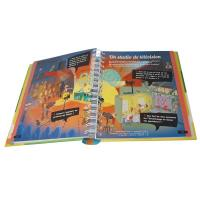 Wholesale Spiral Bound Book Printing Offset Printing High Glossy UV Varnish from china suppliers