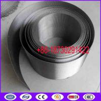 Buy cheap Reverse Dutch Twill Weave Ribbon Style Mesh Filter Belt For Continuous Screen Changers from wholesalers