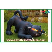 Buy cheap Customized Inflatable Holiday Decorations AirblownInflatable Black Cat from wholesalers