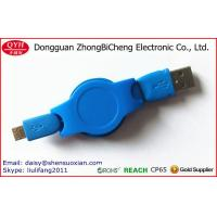 Buy cheap Micro-USB USB Type and MP3 MP4 Player Use small retractable cable reel from wholesalers