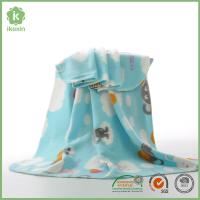 Buy cheap Customized Cute Animal Printing Kids Polyester Polar Fleece Blanket from wholesalers