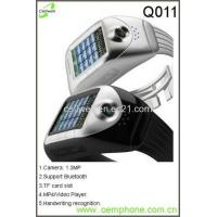 Wholesale Q011GSM Original Unlocked Brand New Wrist Watch Mobile Phone from china suppliers