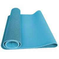 Blue Sticky Rubber Foam Yoga Mat, Non Slip Durable Sport Mats Manufactures