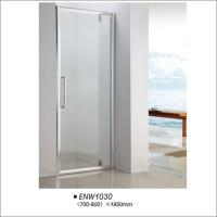 Buy cheap Framed Hinged Glass Shower Door / Hinged Shower Screen For Hotel Bathroom from wholesalers