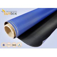 Buy cheap Good Abrasion Resistance Flame Retardant Waterproof Fiberglass Cloth Polyurethane Coated Fiberglass Fabric from wholesalers