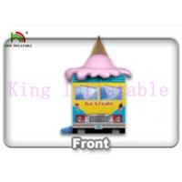 Buy cheap Commercial Colorful PVC Ice Cream Van Inflatable Jumping Castle Kids Jumping Space from wholesalers