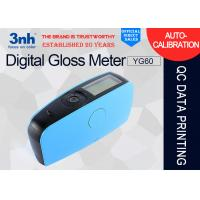 Buy cheap YG60 Accurate Digital Gloss Meter USB Interface For Protective / Marine Coatings from wholesalers