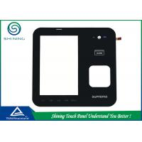Buy cheap 4 Layers 4 Wire Resistive Touch Panel / Analog Resistive Touch Screen from wholesalers