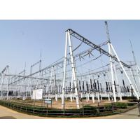 Buy cheap A Frame Dead end Transmission and Distribution Substation Structures , Steel Tubular Beam and Gantry from wholesalers