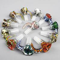 Buy cheap Beautiful male female glass pipe bowls Smoking Accessories for Bongs from wholesalers