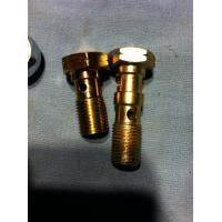 Buy cheap carbon steel banjo hydraulic pipe fitting scew banjo bolt and nut from wholesalers