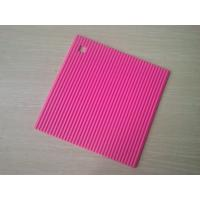Buy cheap Food-safe Square Silicone Heat Resistant Mats , Non-stick Silicone Trivet from wholesalers