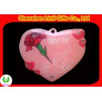 Buy cheap Supply 2011 cheapest Hot light up led red heart flashing badge Valentine day Gifts from wholesalers