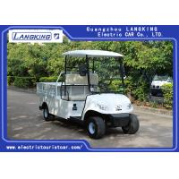 Buy cheap White color 48V / 3kW 2 Seats Farm Electric Cargo Fan / Mini Utility Vehicle from wholesalers