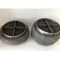 Buy cheap 2-635 Mesh Braided Filter Demister , Mesh Pad Demister Gas Liquid Filter from wholesalers
