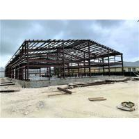 Wholesale Industrial Metal Factory Building Steel Structure Warehouse With Rolling Door from china suppliers
