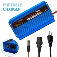 Buy cheap Universal Mobility Scooter 24 volt lead acid battery charger 5A VRLA SLA AGM GEL from wholesalers
