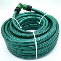 Buy cheap High Quality Food Grade Synthetic Fiber Net Nylon Braided Flexible PVC Garden Reinforced Hose from wholesalers