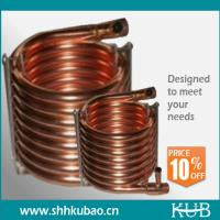 Buy cheap copper tube aluminum fin condenser coil from wholesalers