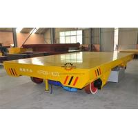 Heavy Duty Rail Flat Electric Transfer Cart 100ton Table 1800x3000mm On tracks Manufactures