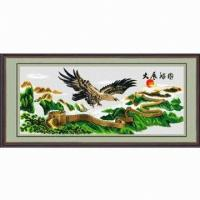 Buy cheap DIY Wall Hanging for Home Decoration, Customized Designs are Accepted, Measuring 60 x 50cm from wholesalers