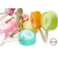 Sweet Lolipop Candy Shape Organic Natural Soaps Glycerin Gpmc Manufactures