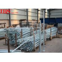 Size 3 Galvanised Acrow Props , Scaffolding Steel Prop For Concrete Floor Building