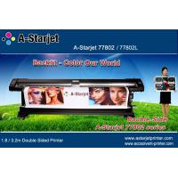 A-Starjet Eco Solvent Double Sided Printer 1.8M for Flex Banner in Airport