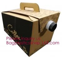 Buy cheap 2L/3L/5L Disposable Coffee Bag In Box With Valve Coffee Box Dispenser Bag In Box Bags, Wine Carriers, Juice Beverage Bag from wholesalers