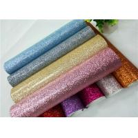 Wholesale Shoes Bags Wallpaper Glitter Fabric Roll Knitted Backing Technics 0.6mm Thickness from china suppliers