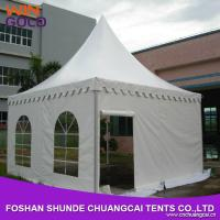 Buy cheap pagoda tent for church camping tent wedding pagoda metal pergola from wholesalers