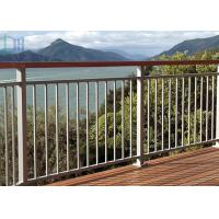 Buy cheap Rot Proof Aluminum Exterior Railings , Aluminum Stair Handrails For Outdoor Steps from wholesalers