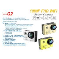 Buy cheap 2 Inch Touch Screen 12 Mega Pixels Waterproof 30m G2 Full HD 1080p Action Cam Sport Camera from wholesalers