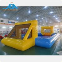 Buy cheap Customized Mad's Over Sport 20x10m Inflatable Soap Football Arena Inflatable Soapy Football from wholesalers